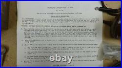 NOS Startmaster AUTOMATIC START CONTROL KIT Original Vintage Accessory