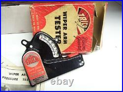 NOS Vintage original TRICO Wiper Arm tester Service station GM Chevy Ford 1950s