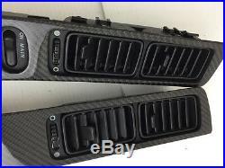 NSX Carbon Fiber Power Window Door Trim, Made from OEM parts
