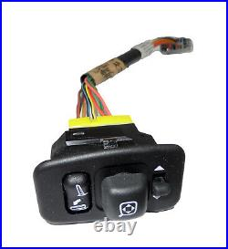 New OEM Power Fold Driver Side Mirror Switch with Wire Harness Ford YL7Z-17B676-AA