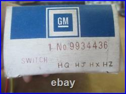 Nos Holden Hq Hj Hx Hz Wagon Electric Power Window Switch Tailgate Premier New