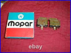 Nos Mopar 1969-76 B & C Body Power Door Lock Relay 79-93 Convertible Top Relay