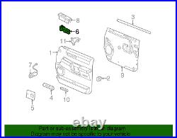 OEM GM Front Passenger Side Door Power Lock Window Control Switch 19115820