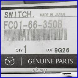 OEM NEW 89-91 Mazda RX-7 Driver Side Power Window Control Switch FC01-66-350B