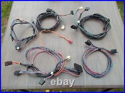 Power Electric Window Complete Wire Harness Connector Front Rear Two/Four Door