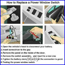 Power Master Window Switch 68231805AA for 2011-17 Dodge Charger Chrysler 4-Door