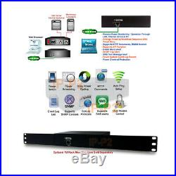 Professional Remote Power Switch 2 AC Outles with Timer Web Control