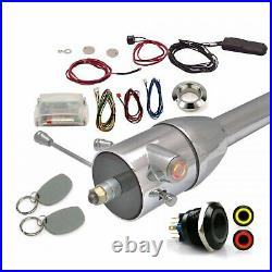 Red One-Touch RFID Engine Start Conversion Kit Fits GM Steering Column'67 & Up
