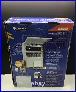 Reliance Controls 8,000 Watt Generator Back-up Power Transfer Switch Kit 3006HDK