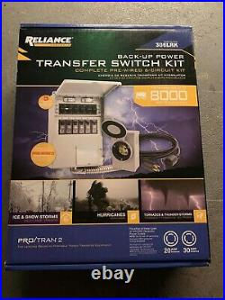 Reliance Controls Back-Up Power Transfer Switch Kit