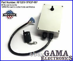 Remote Control for 120VAC Pendant Controlled Hoists and Winches RF120V1PR3P-WP