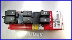 Soul 2011-2012-2013 Driver Door Power Window Switch Black Original Kia AUTO DOWN