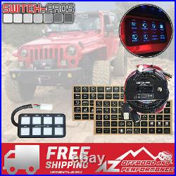 Switch-Pros SP-9100 Universal 8 Switch Wiring System For Truck Jeep UTV Boat