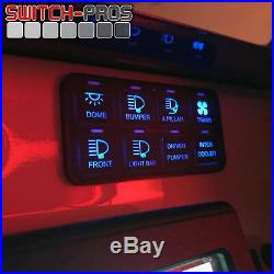 Switch-Pros SP-9100 Universal 8 Switch Wiring System Truck Jeep UTV Boat