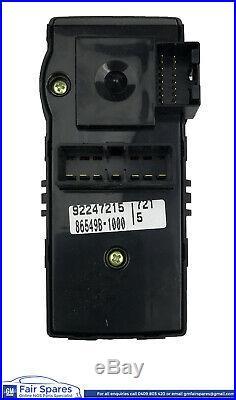 VE Commodore SV6 SS SSV, Black 4 Way Electric Power Window & Mirror Switch Block