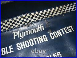 Vintage 60s Plymouth Mopar auto fender service part gm Hot rat rod accessory