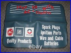 Vintage 70s AC Delco promo auto fender service part gm Hot rat rod accessory