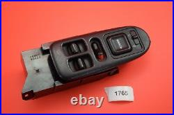Yc#25 94-01 Acura Integra Master Power Window Switch 2 Dr Door Left Coupe Black